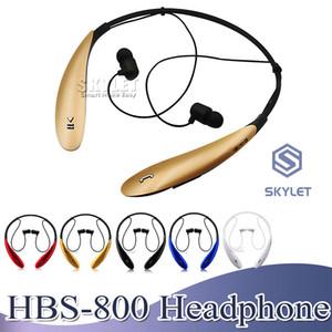 Hbs800 fone de ouvido sem fio fone de ouvido bluetooth 4.0 no ouvido estéreo fones de ouvido esporte jogging fones de ouvido para iphone samsung xiaomi lg huawei com caixa