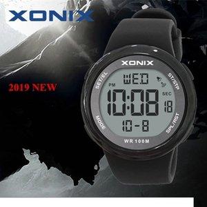 Мода мужчины спортивные часы Водонепроницаемые 100 м отдых на открытом воздухе материал зеркало Sumergible цифровой часы плавание наручные часы Reloj Хомбре CJ191213