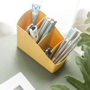 Plastic Makeup Organizer Box Cosmetic Storage Container Lipstick Holder Jewelry Organizer Sundries remote control Case Box