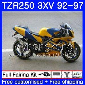 Kit per YAMAHA giallo CALDO TZR 250 3xV YPVS TZR250 92 93 94 95 96 97 245HM.11 TZR250RR RS TZR250 1992 1993 1994 1995 1996 1997 Carena