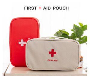 10pcs Sac de rangement vide premiers soins Sac Kit Pouch Home Office de secours médical d'urgence Voyage Sac Case