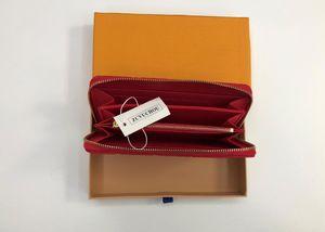 Sıcak Fabrika Toptan Satış! toptan 2019 marka moda tek fermuarlı ucuz tasarımcı erkek kadın kabartmalı deri cüzdan bayan bayan kutusu toz