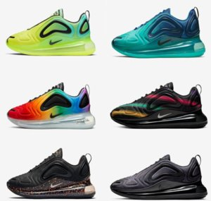 Bred 720 Mens Running Shoes Electric Green Volt Aurora Cosmic Wolf Grey University Red Psychic Powder Men Women Trainer Sports Sneakers