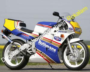 For Honda Fairing NSR250R MC21 NSR 250 R Rothmans ABS Bodywork Motorcycle Kit 1990 1991 1992 1993 (Injection molding)