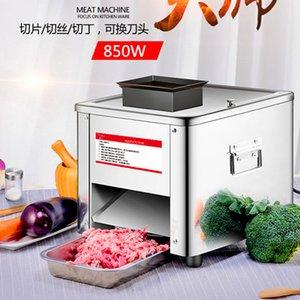 New Electric Meat Slicer Cutter Commercial Accueil Viande Machine à découper automatique Coupe de viande Mincing 165 KG / H