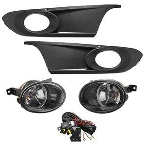 Çifti Sis Işık Lambası Grille Kapak Kablo Switch ve Koşum ile Jea Golf 6 2011-2014 için Setleri Anahtar