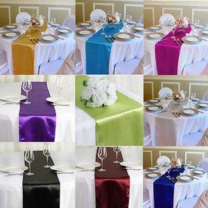 Faroot SUPERIORE come la seta decorazione della tavola corridore raso per il banchetto festa di nozze