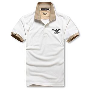 19ss Tasarım lüks yaka polo gömlek erkek gömlek Pamuk polo Erkekler moda Giyim Sıcak Satış Pamuk Yaz nefes Tees Artı boyutu