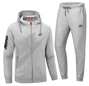 nuovi insiemi incappucciati giacca uomo donna Outfits 3 colori Donne Tute modo ha stampato 2 piece set maniche della maglia top + pants Kit B105577L