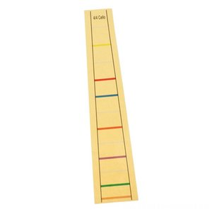 Duradera dedo Fret marcador Etiqueta cadenas de etiquetas de la etiqueta multi duradera dedo Cello Fret marcador Etiqueta Cello Cuerdas etiqueta de la etiqueta multi