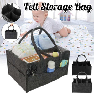 Baby Diaper Bag Nappy Changing Bag Portable Bottle Cup Holder Maternity Travel Non-woven Stroller Car Organizer Storage Bins