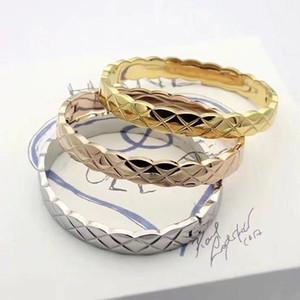 Роскошный дизайнерский браслет из нержавеющей стали Ювелирные изделия манжеты браслет ювелирные изделия женские коричневые браслеты модные цепные браслеты браслеты браслеты de Hombre
