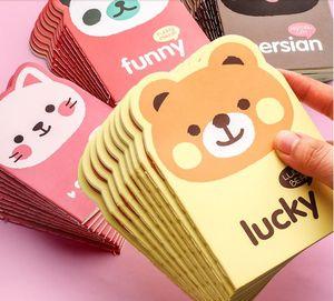 Tragbare kleine Tasche Notizblock nett Notebook mini kreative Kinder fördern Cartoon Buchpreis kleines Geschenk für Grundschüler