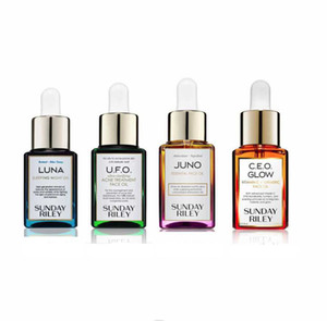 Drop Ship EPACK New Face Oil Skin Care Sunday Luna & UFO & Juno & Ceo 0.5oz. 15ml High quality free shipping