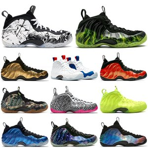 Schuhe Männer nike air foamposite one pro penny hardaway shoes Alternate Galaxy 1.0 2.0 Habanero Red Sneakers PEARLIZED PINK OG königs METALLIC GOLD Stiefel Sportschuhe 13.07