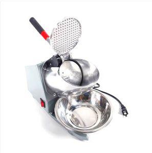 شحن مجاني بالجملة حار مبيعات 200 واط 60 هرتز العملي الرئيسية استخدام الكهربائية آلة الحلاقة الجليد آلة الآيس كريم الفضة
