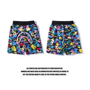 20SS الرجال القرود السراويل القصيرة casua جديد الموضة للنساء اللون شورت للرجال صيف شاطئ السراويل السباحة للرجال الرياضة الهيب هوب نمط B2