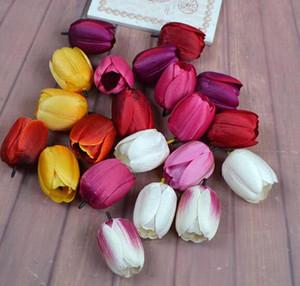 Simüle Lale LED Simüle Çiçek Aksesuarlar Salon Yatak Odası Dekorasyon Çiçek Pastoral Stil WL332