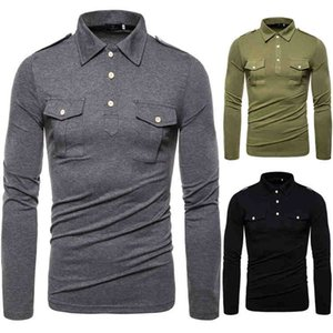 Luxury Mens Solid Color Tee Fashion Long Sleeves T Shirts Designer Slim Breathable Mens Tops Casual Male Clothing