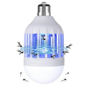 15W E27 LED tueur de moustique éclairage de l'ampoule 2 dans une lampe de tueur de moustique Convient E26 / E27 Ampoule Socket 1 Paquet