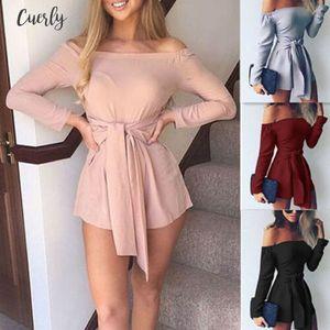Women Dress New Fashion Woman Clothes 2020 Womens Playsuit Clubwear Ladies Casual Romper Summer Beach Dress Free Shipping Good Quality