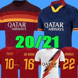 Thailand DZEKO PEROTTI PASTORE ZANIOLO Fußballtrikot Rom 2019 TOTTI Trikot 20 21 Fußballtrikot Trikot DE ROSSI 2020 als Maillot de Foot Roma