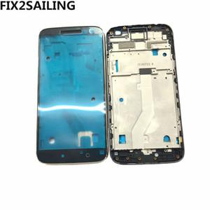 Housing dell'incastronatura anteriore piatto centrale per Motorola MOTO G4 Gioca anteriore Housing LCD Bezel pagina della targa di sostituzione