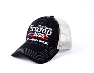 Branded Trump 2020 baseball cap US presidential election hat camouflage high quality customization
