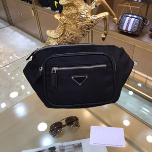 Fan de verano europeo y americano de moda 2019 nylon color sólido práctico Fanny pack P0025 diseñador Fanny pack envío gratis en todo el mundo