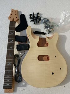 PROJECT ELECTRIC GUITAR BUILDER KIT DIY MIT ALLE ZUBEHÖRTEILE (P)