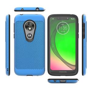 Двухслойный Гибридный телефон чехол для Motorola Moto E5 Play Cruise G Stylus E6 G6 Plus X5 G7 Противоударно Обложка