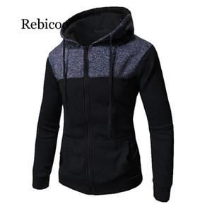 Rebicoo Бейсбол Куртка Мужчины 2019 Мода Мужская Slim Fit Колледж Университетское Пальто Мужской Стильный Верхняя Одежда Homme