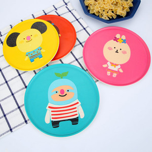 Accueil Gadgets Fibre de bambou résistant à la température Vaisselle créative Tampon calorifuge Placemat Bowl Plate Mat tapis kitchen tool @