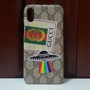 Caixa do telefone do designer para Iphone 6 7 8 Plus XS MAX XR Moda Brands Telefone total de Luxo D743 Caixa
