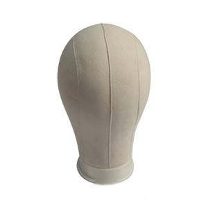 Head Display Styling Mannequin Manikin Head Wig Stand Training Mannequin Canvas Block