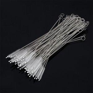 Pipette Cleaner 175 * 30 * 6 mm Nettoyage de fil en acier inoxydable Brosse de nettoyage Pipette Bouteille en spirale brosse douce T3I5103-1