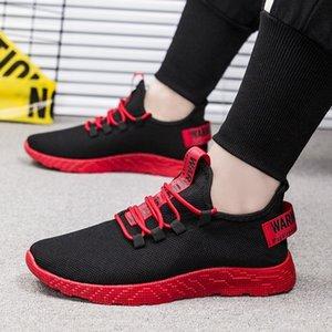 Adisputent Uomini Sneakers tenis masculino traspirante Casual No antiscivolo Uomini vulcanizzare Scarpe Uomo Lace Air Mesh su scarpe Resistente