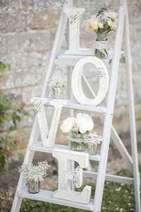 Free shipping LOVE Wedding Sign 15*13*2CM wedding decoration LOVE letters