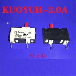 Taiwan KUOYUH piccola protezione da sovraccarico di corrente 91-BPR-2.0A protezione dello strumento