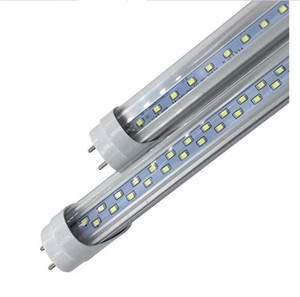 в наличии Продам дешево 4 фута T8 Сид пробок 22w 28W вело светильник пробки 1200mm пробки Сид ac90-260В определите/двойной рядок 2835 светодиодные лампы 50шт