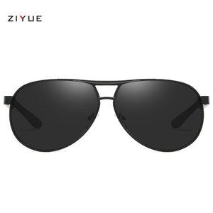 8005 yeni tasarım erkekler Metal geniş çerçeve güneş gözlüğü kurbağa ayna sürücü sürüş ayna polarize güneş gözlüğü güneş gözlüğü