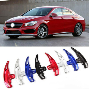 Steering Wheel car DSG Paddle Extensão Shifters Capa Para Mercedes AMG CLA45