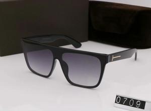 0709 Luxary 2019 Brand Designer Sunglasses wood glasses for men women Fashion buffalo sunglasses Clear brown lens wooden frame 2019
