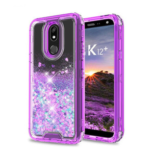 3in1 Glitter Liquid Case for Galaxy S20 S20+ ULTRA 11MAX PRO Iphone 11 6 7 8 6Plus 8Plus X XR Xs Max Hybrid Heavy Duty Defender Case