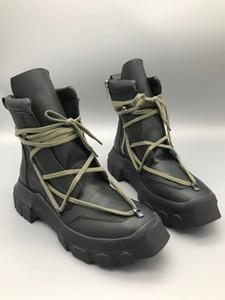 18ss primavera e autunno nuovo elenco TPU suole importati italiani genuini stivali di pelle di fascia alta hardware moda casual scarpe da uomo