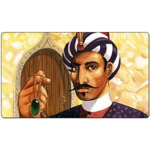 Волшебная настольная игра Playmat: Али из Каира 60 * 35см размер Коврик для мыши Коврик для мыши Play Matwitch фэнтези оккультный темная женщина wizard2Trial o
