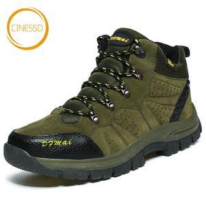 CINESSD Large Size 36-48 Wanderschuhe Unisex Wasserdichte Anti-Skid Trekkingschuhe Paare Outdoor Sports Klettern Stiefel-Turnschuhe