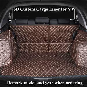 Custom Cargo Liner Car Trunk Mat for VW Tiguan Tiguan L Touarge Teramont Touran Touran L Sharan Auto Trunk Mats