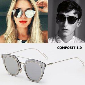 Jackjad Moda Composit 1,0 metal de la aleación de sol polarizadas estilo fresco de los ojos Marca Diseño Gato Gafas de sol Gafas de Sol Gafas MX190723