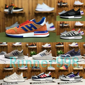 2020 New Dragon Ball ZX 500 RM Goku Suede Sport-laufende Schuhe Qualitäts-Männer Wome ZX500 Turnschuhe atsneaker Trainer Jogging 36-44